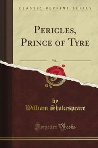 تحميل كتاب بيريكليس - أمير صور pdf مجاناً تأليف وليم شكسبير | مكتبة تحميل كتب pdf