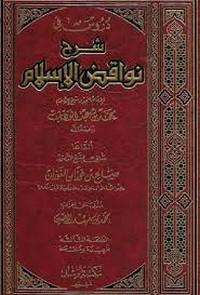 تحميل كتاب شرح نواقض الإسلام pdf مجاناً تأليف محمد إبراهيم الشيباني | مكتبة تحميل كتب pdf