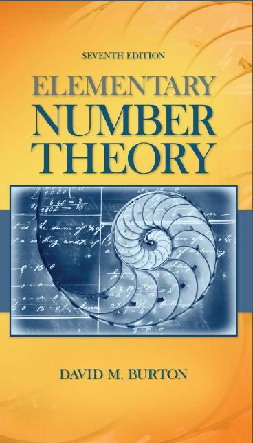 تحميل كتاب Elementary Number theory ل David M. Burton مجانا pdf | مكتبة تحميل كتب pdf